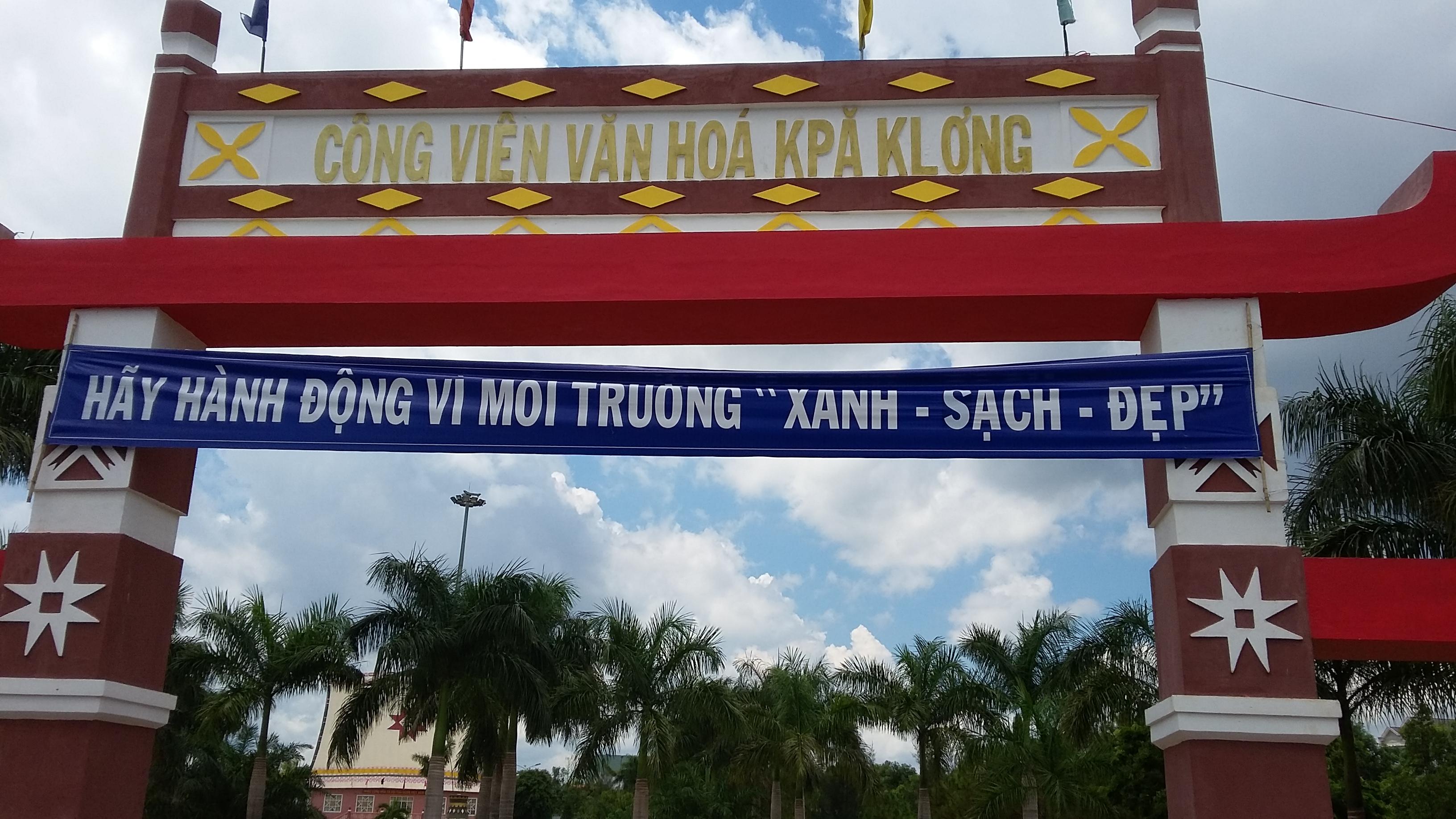 Công ty An Thành Quảng Ngãi sửa chữaĐài phun nước Công Viên Chư Sê