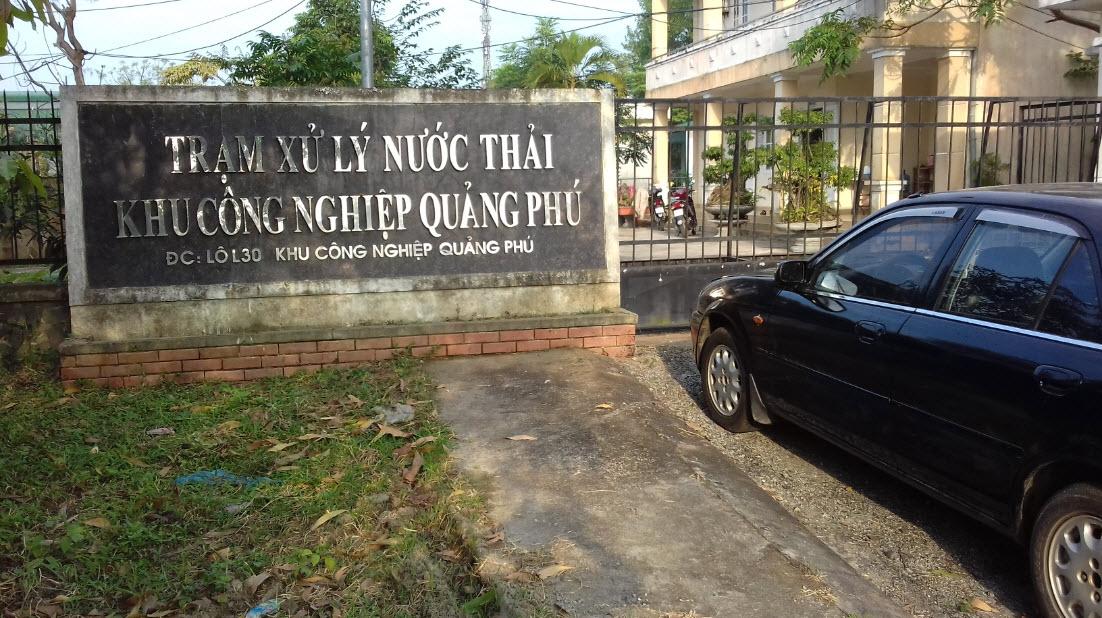 Lắp đặt biến tần cho trạm xử lý nước thải tại Khu công nghiệp Quảng Phú tỉnh Quảng Ngãi